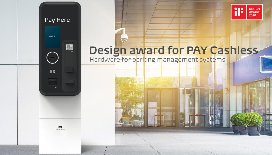 Newsletter Pictures iF Award PAY Cashless